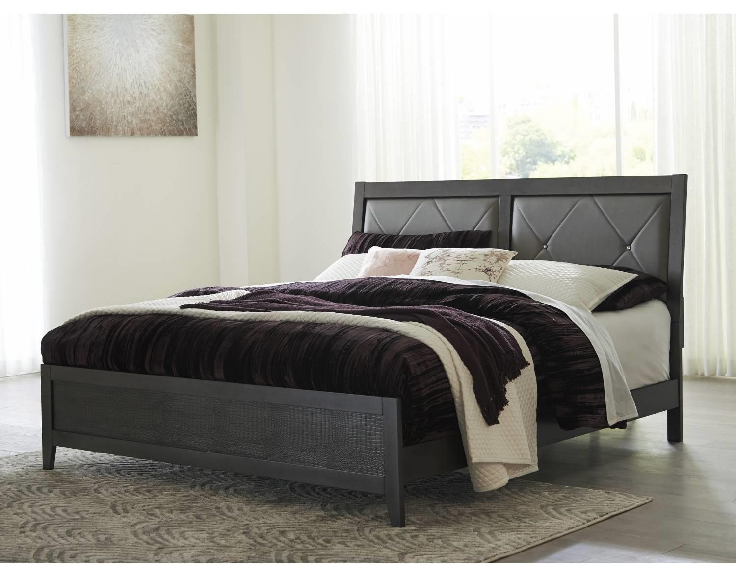 Delmont Delmont King Bed by Ashley at Morris Home