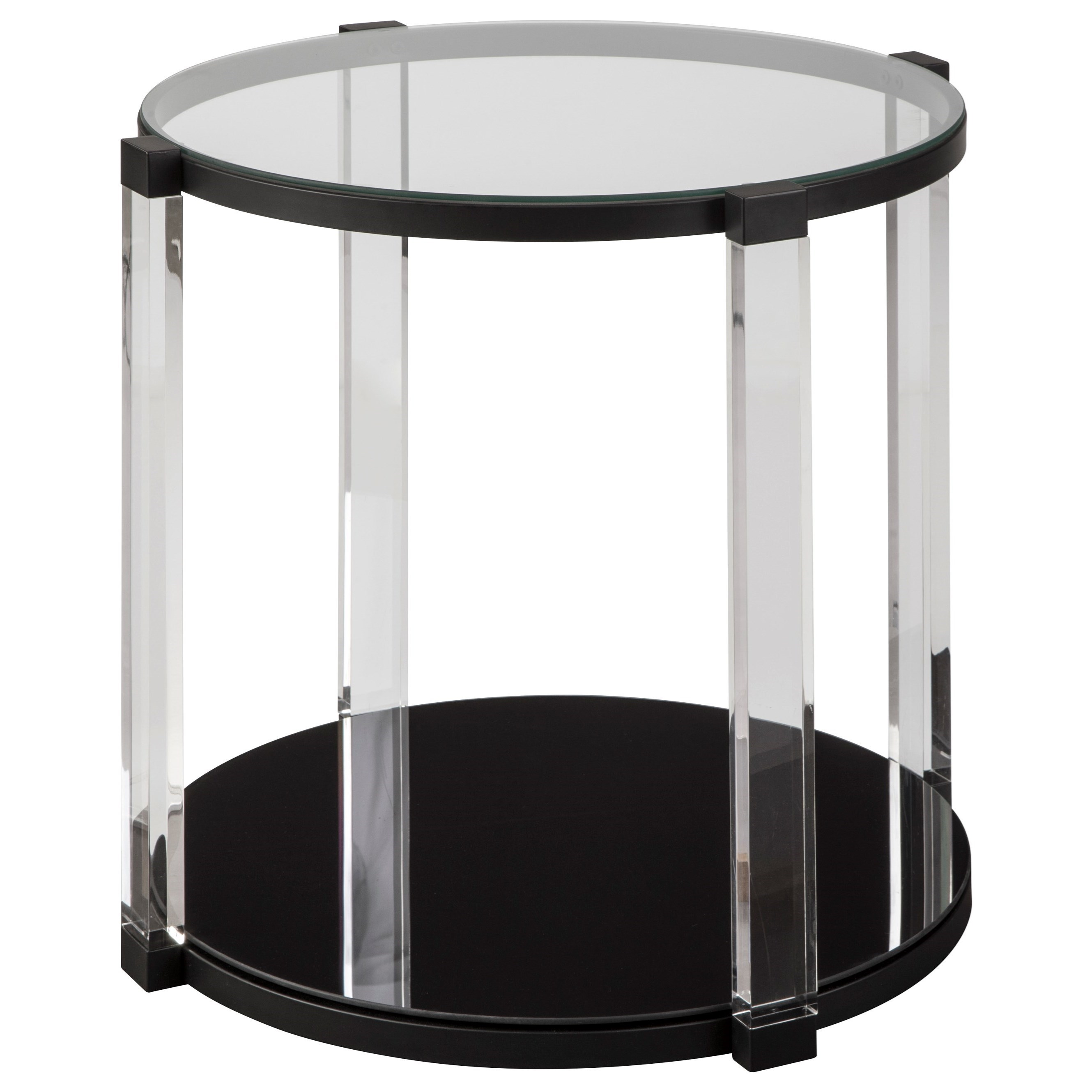 Nina Round End Table by Signature Design by Ashley at Rotmans