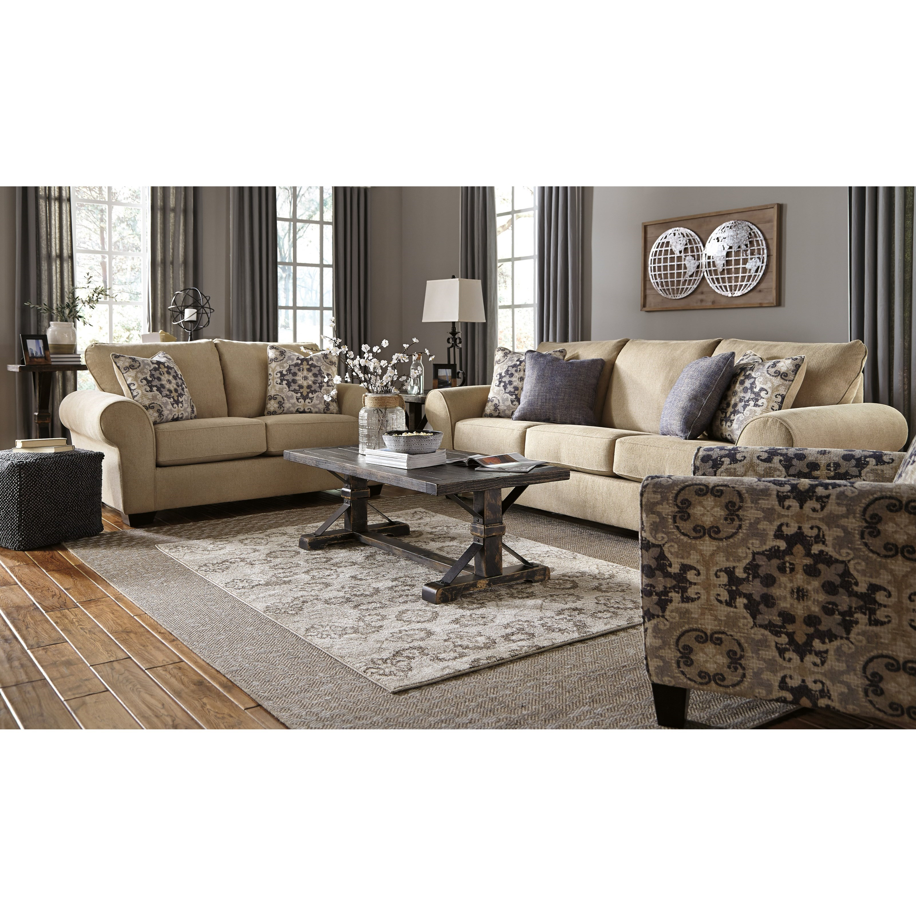 Signature Design By Ashley Denitasse Casual Sofa With