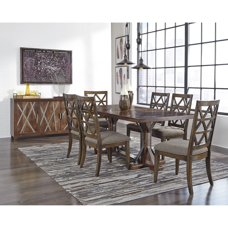Signature Design by Ashley Devasheen Formal Dining Room Group - Item Number: D687 Dining Room Group 2