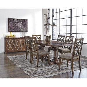 Signature Design by Ashley Devasheen Formal Dining Room Group