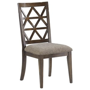Signature Design by Ashley Devasheen Dining Upholstered Side Chair