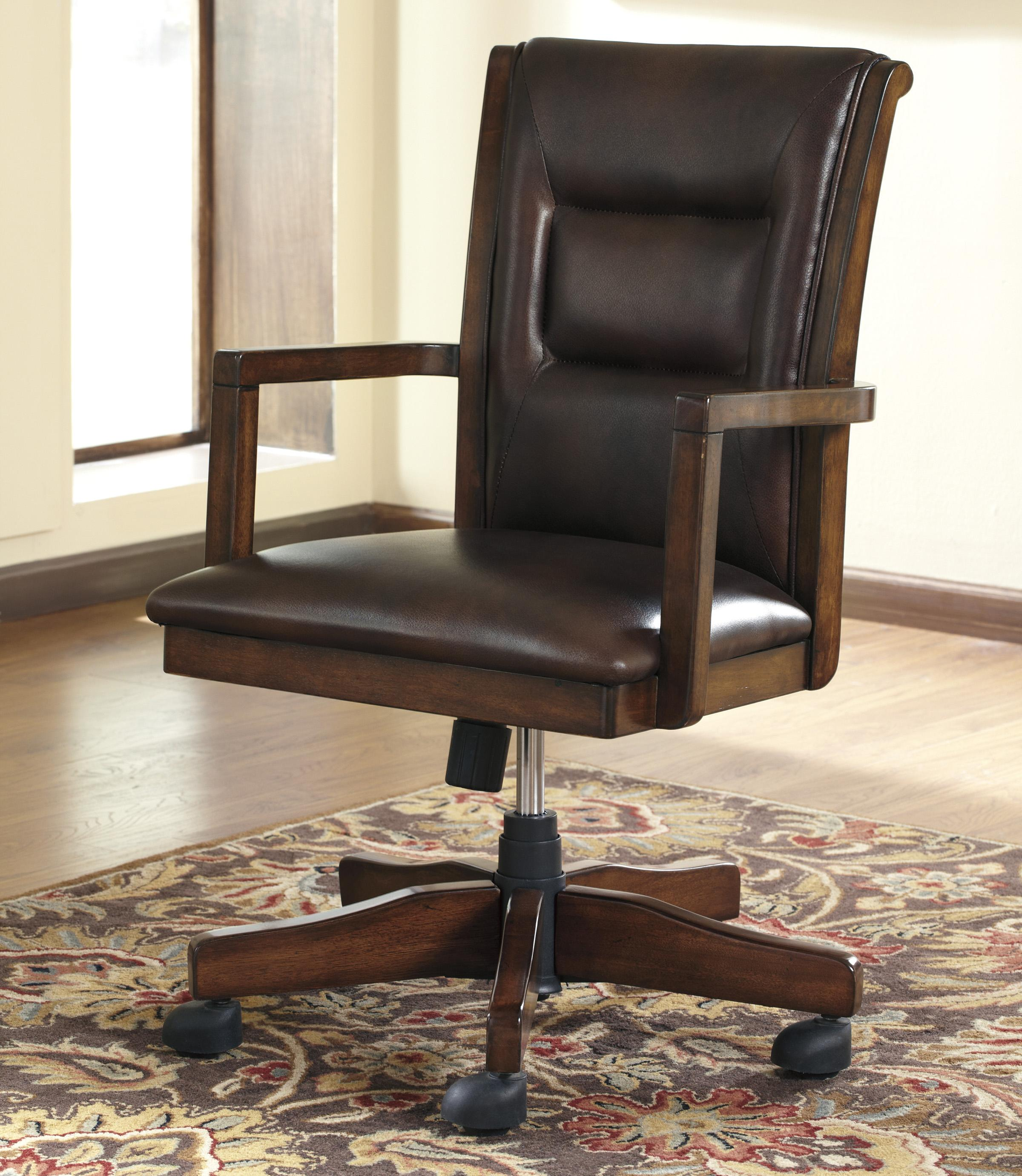 Signature Design by Ashley Devrik Home Office Desk Chair - Item Number: H619-01A