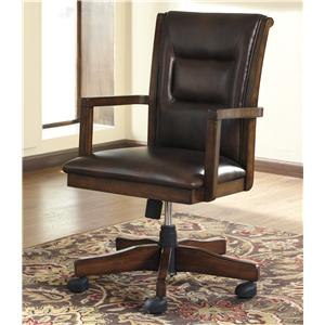 Signature Design by Ashley Furniture Devrik Home Office Desk Chair