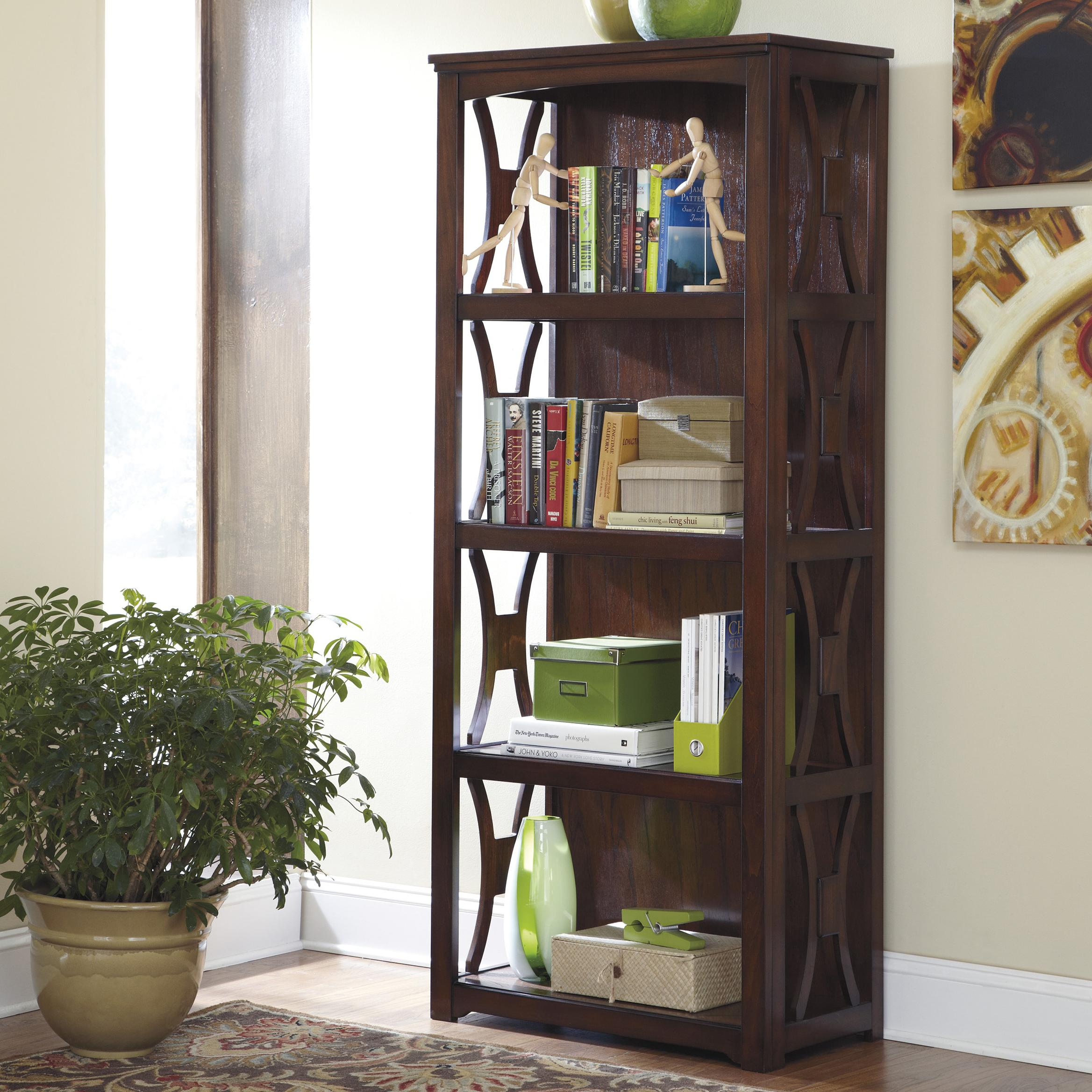 Signature Design by Ashley Devrik Bookcase - Item Number: H619-17