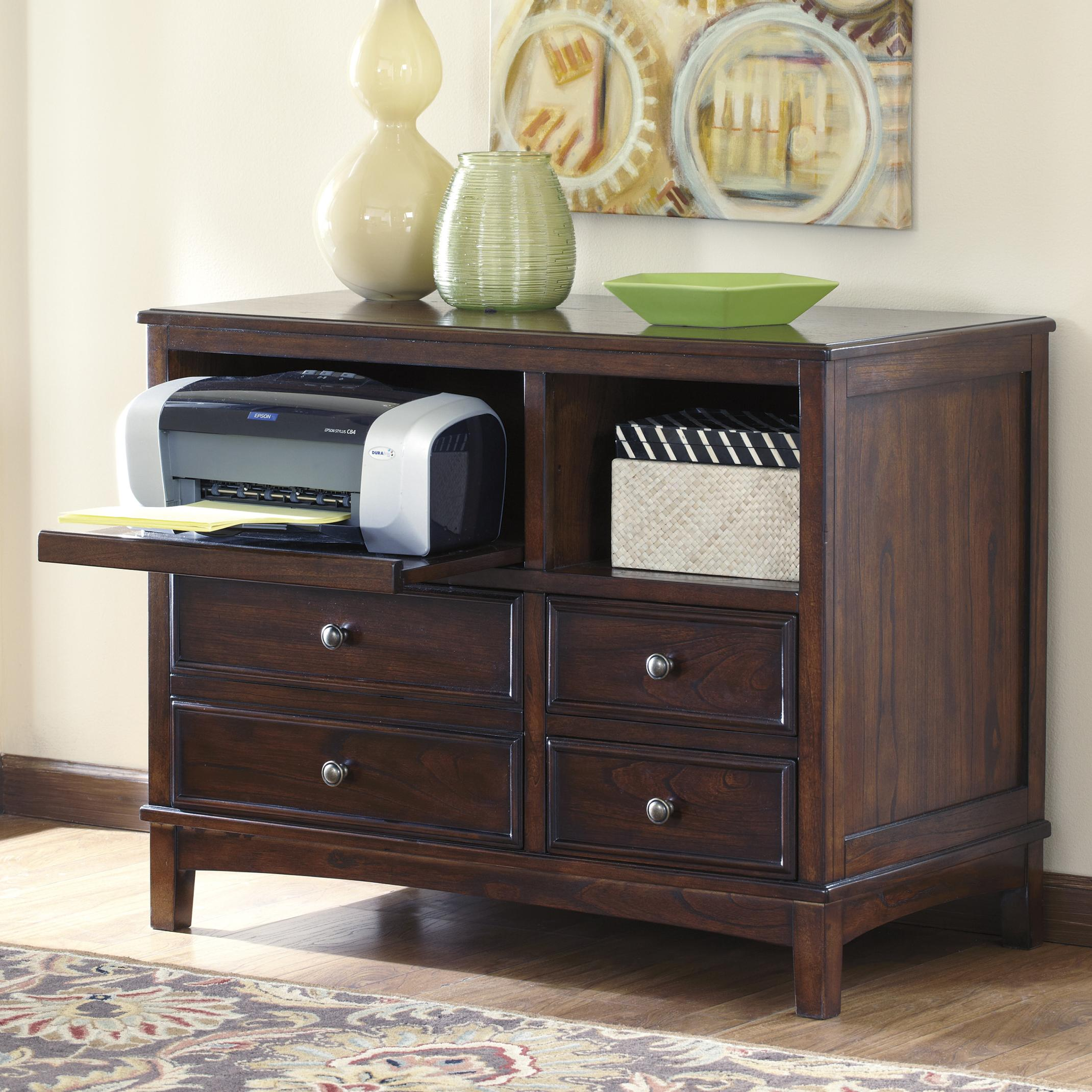 Signature Design by Ashley Devrik Storage Cabinet - Item Number: H619-40