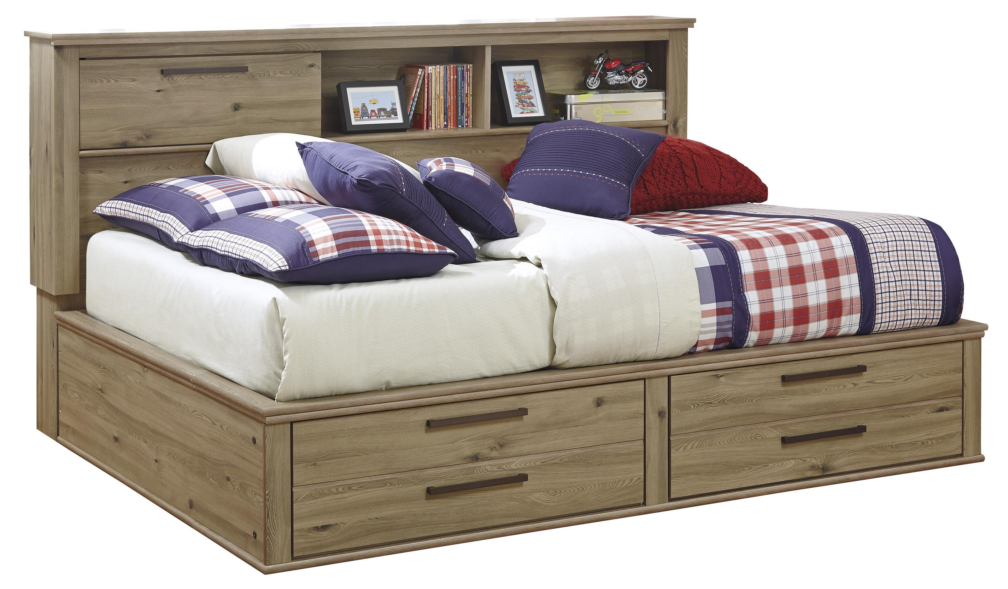 Signature Design by Ashley Dexifield Full Bookcase Daybed - Item Number: B298-85+05+88
