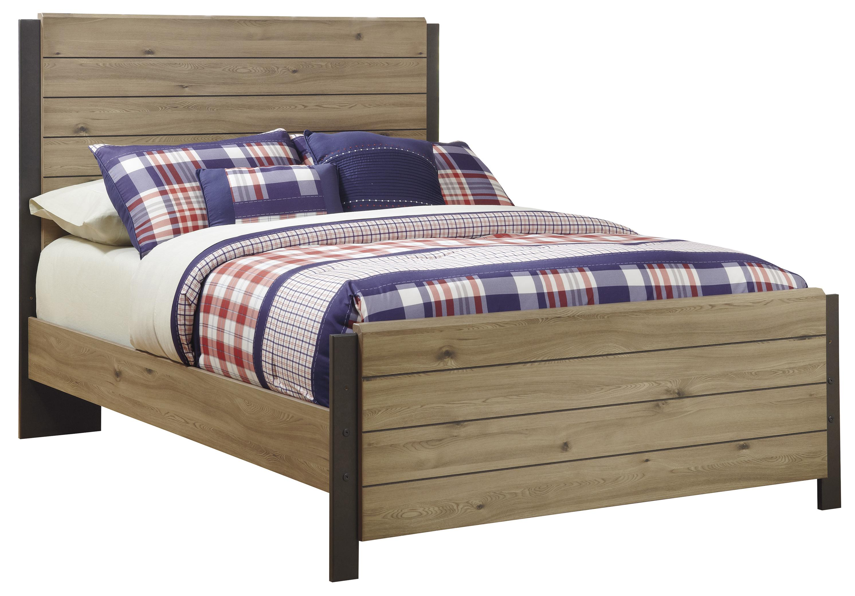 Signature Design by Ashley Dexifield Full Panel Bed - Item Number: B298-87+84+86