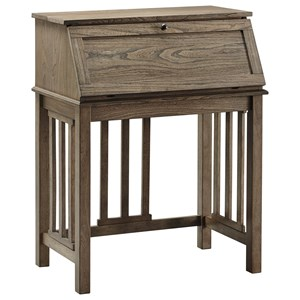 Signature Design by Ashley Dexifield Home Office Drop Front Desk
