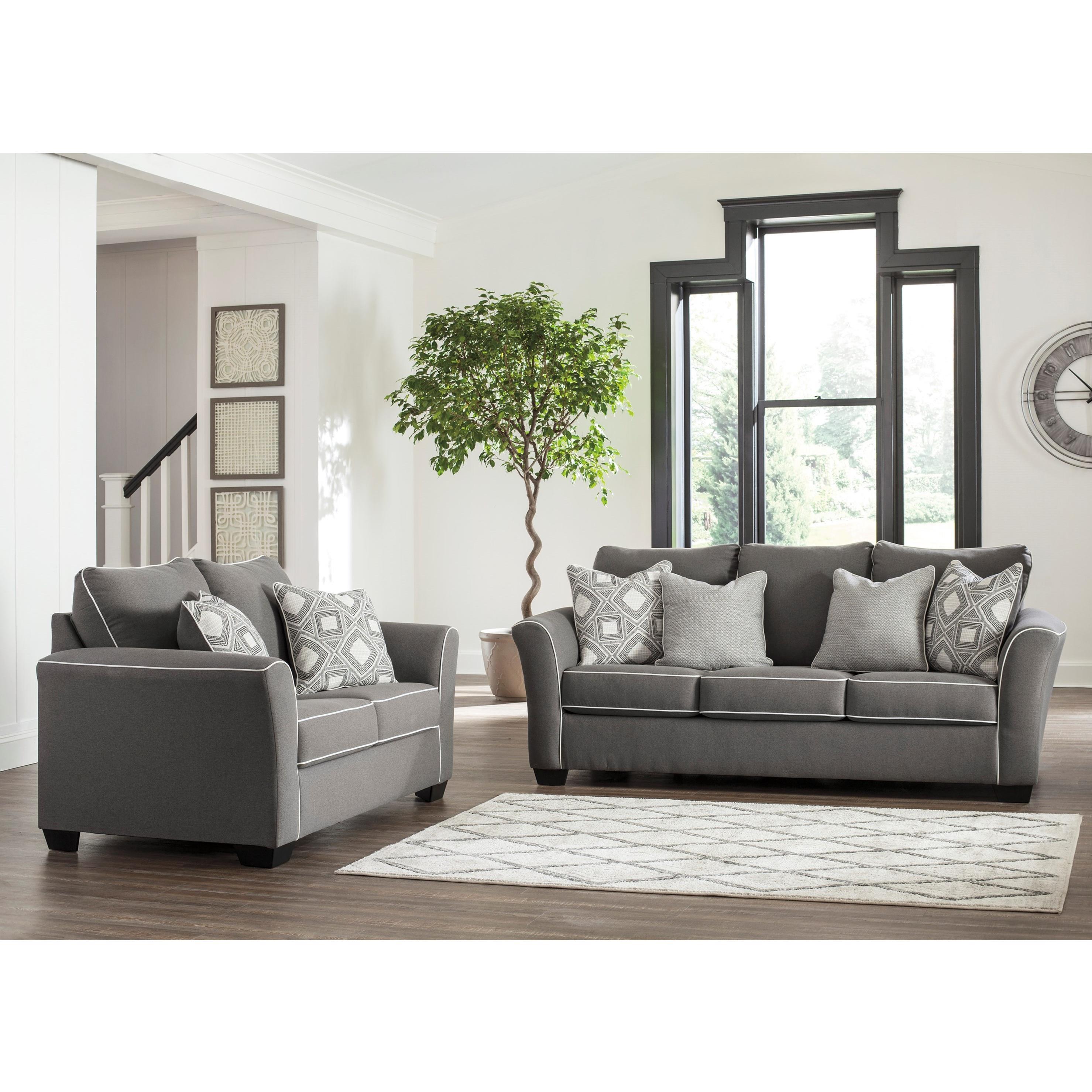 Signature Design Domani Stationary Living Room Group