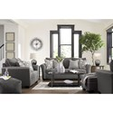 Signature Design by Ashley Domani Stationary Living Room Group - Item Number: 98504 Living Room Group 2