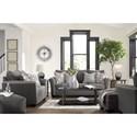 Ashley (Signature Design) Domani Stationary Living Room Group - Item Number: 98504 Living Room Group 2