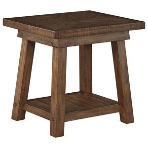 Signature Design by Ashley Dondie Rectangular End Table
