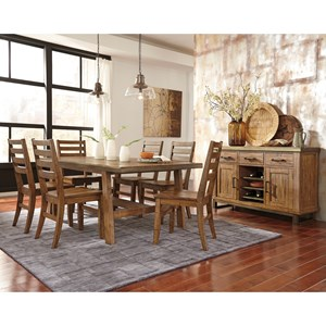 Signature Design by Ashley Dondie Casual Dining Room Group