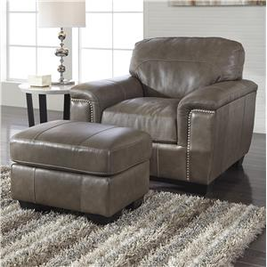 Signature Design by Ashley Donnell Chair & Ottoman