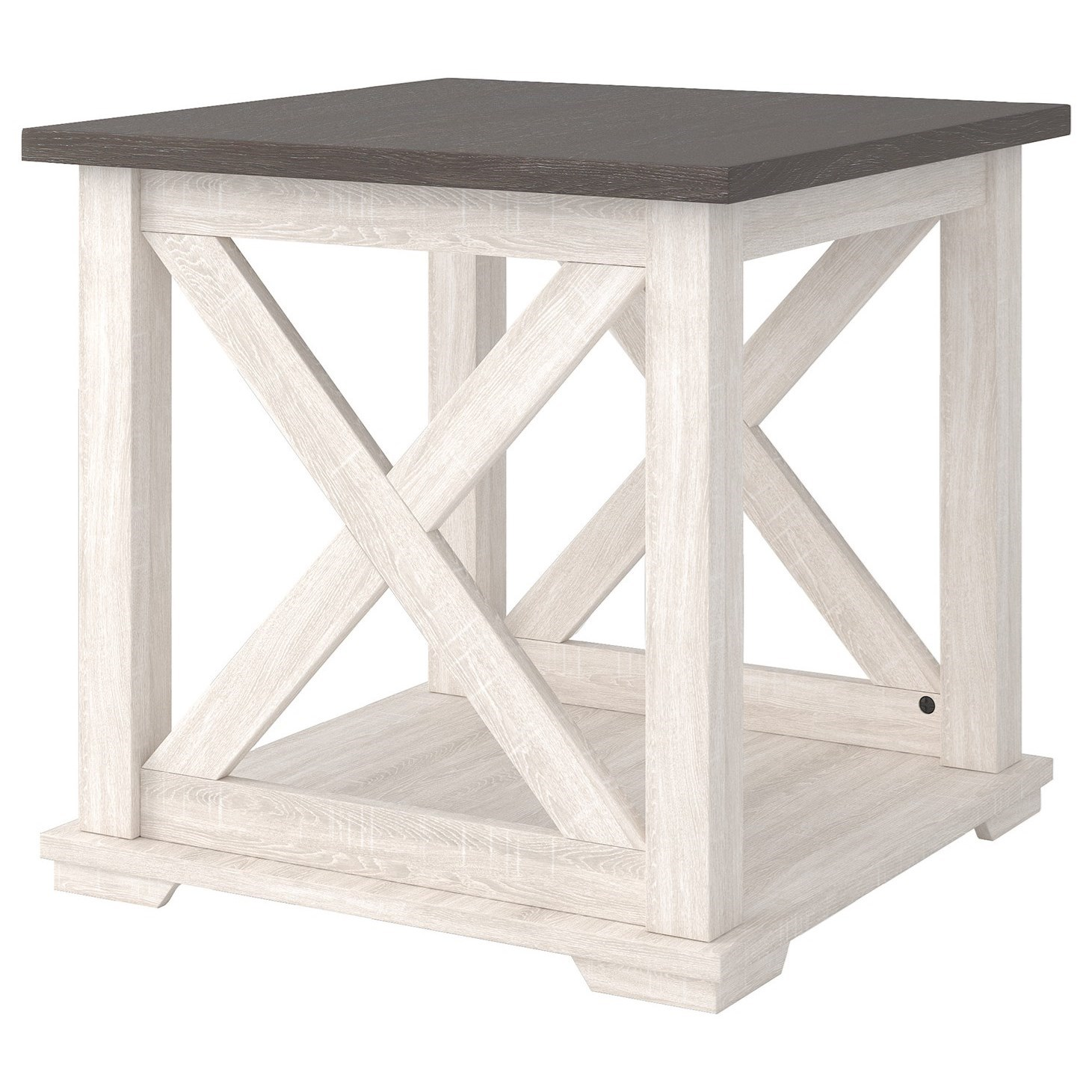 Dorrinson Square End Table by Ashley (Signature Design) at Johnny Janosik