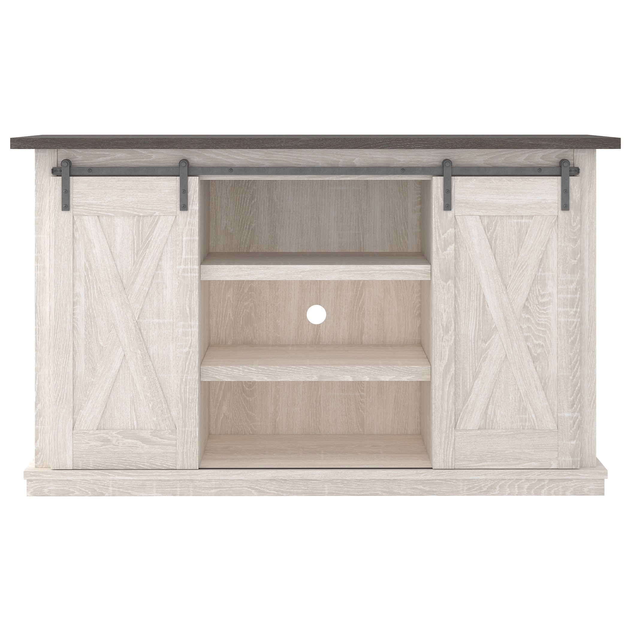 Dorrinson Medium TV Stand by Signature Design by Ashley at Northeast Factory Direct