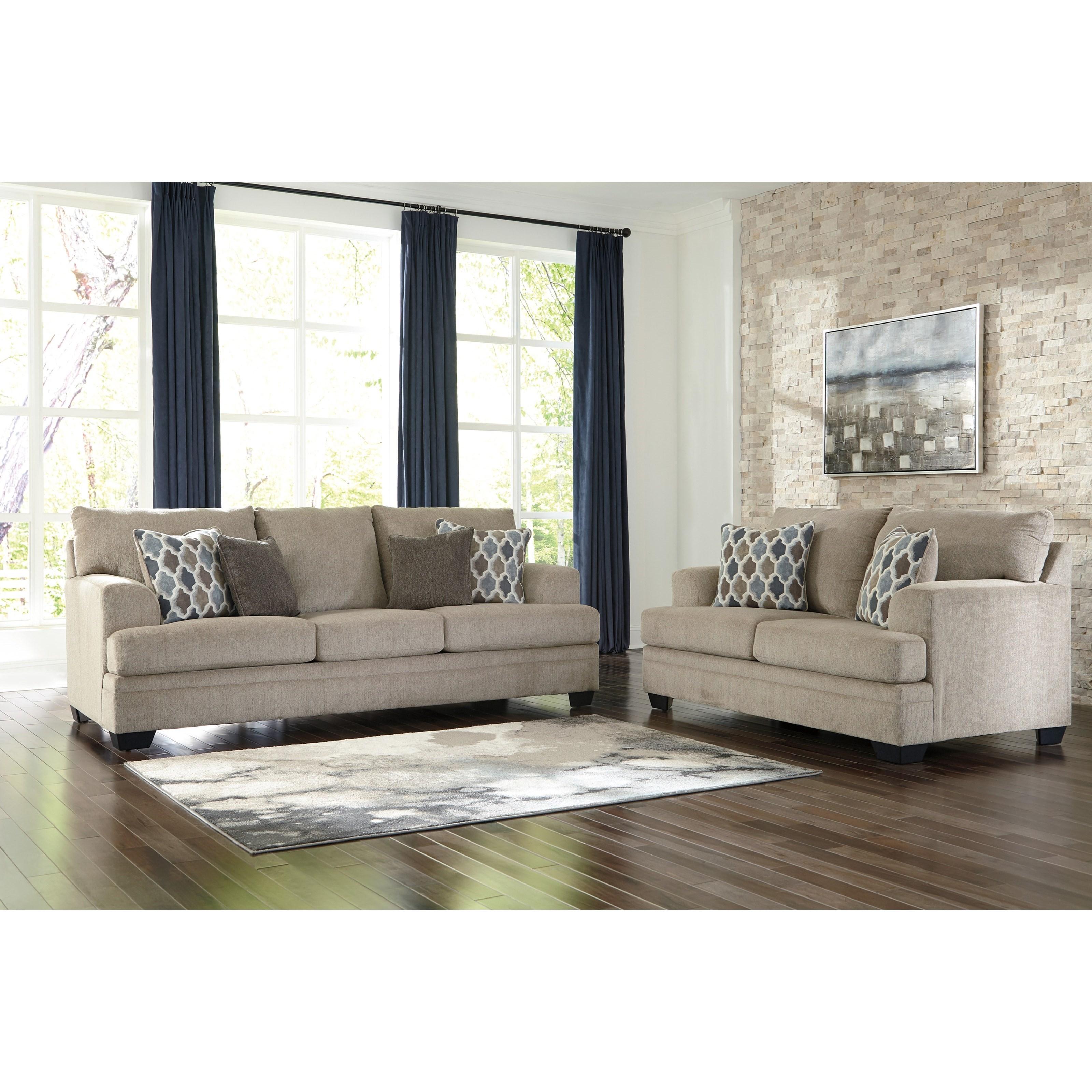 Ashley Furniture Calion Stationary Living Room Group: Ashley Signature Design Dorsten Stationary Living Room