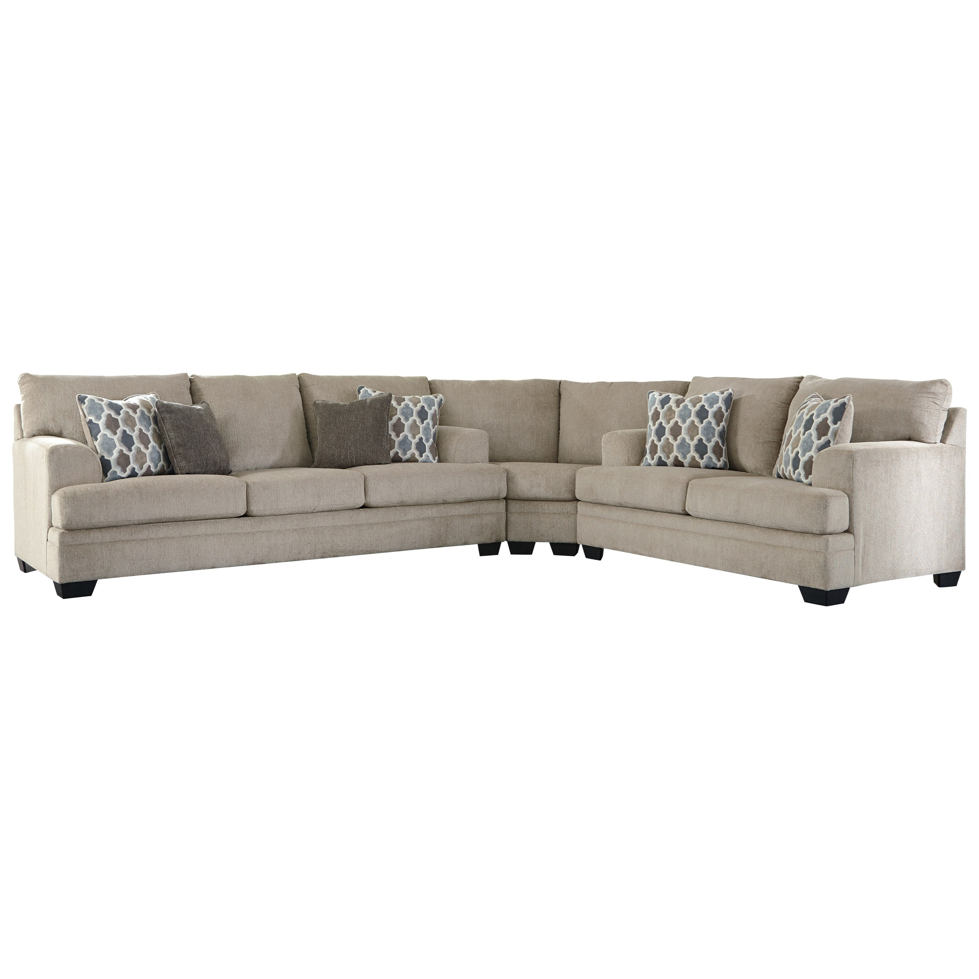 Dorsten 3-Piece Sectional by Ashley (Signature Design) at Johnny Janosik