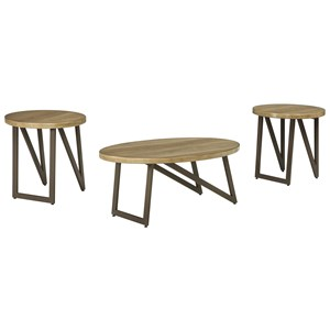 Signature Design by Ashley Dougetti Occasional Table Set