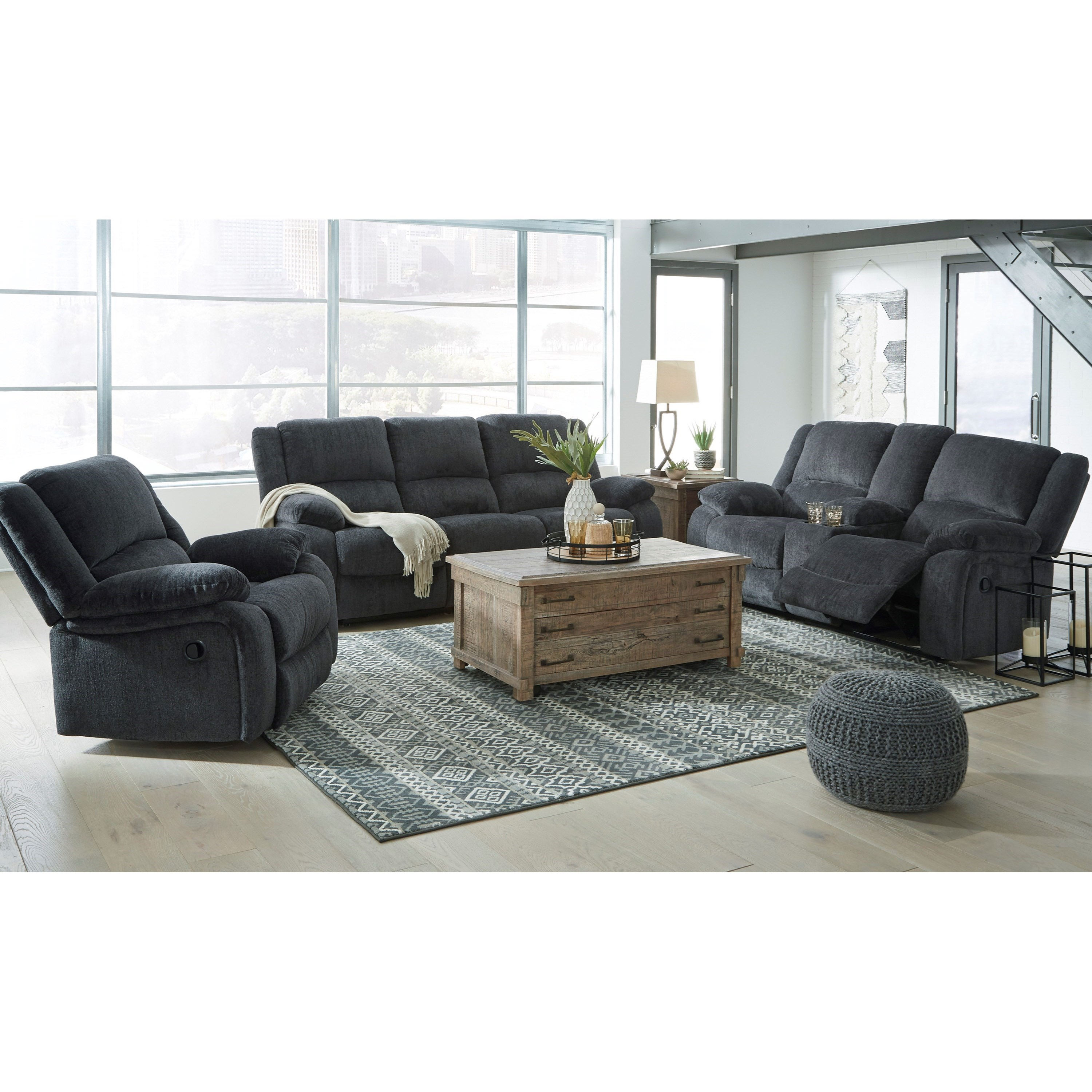 Draycoll Reclining Living Room Group by Signature Design by Ashley at Value City Furniture