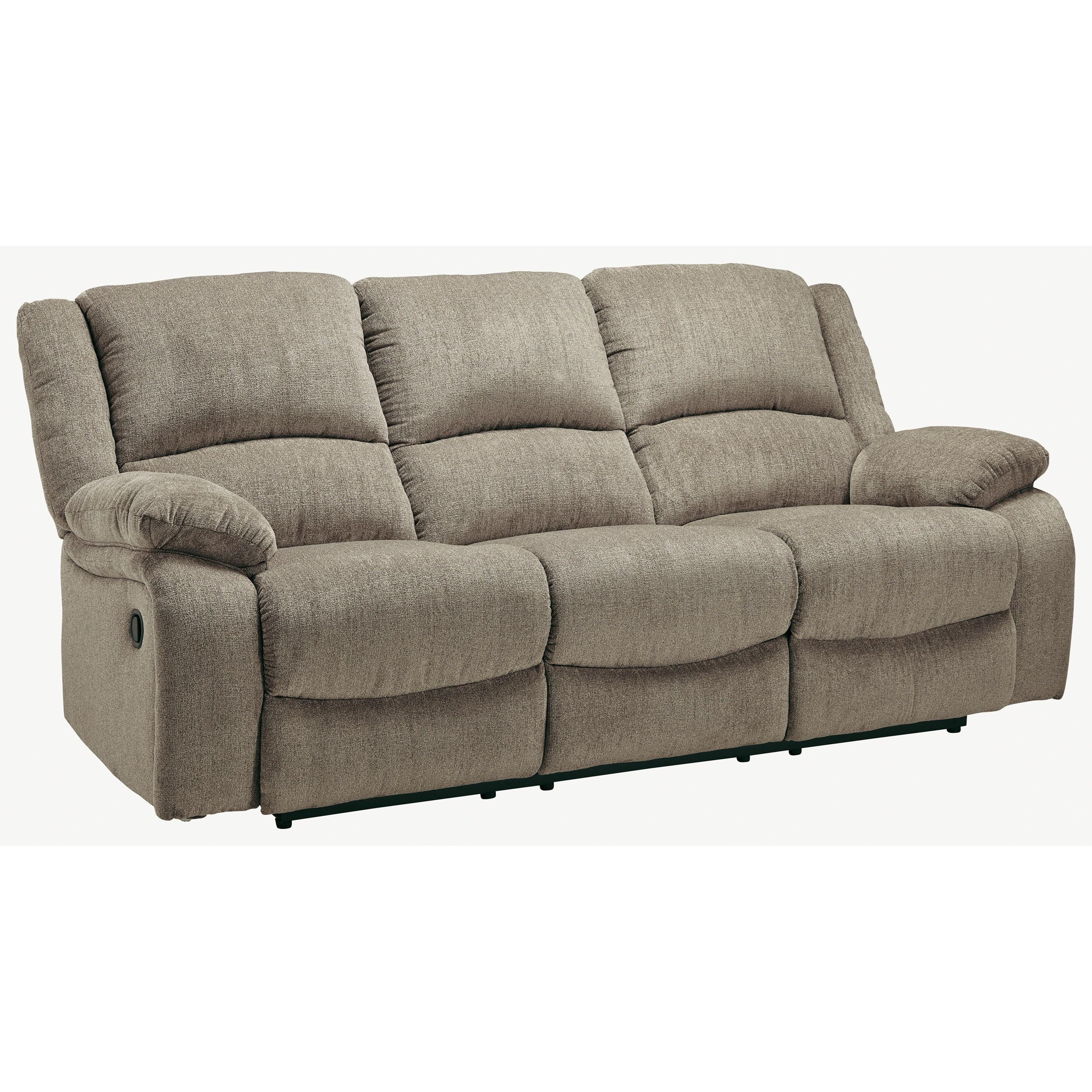 Draycoll Reclining Sofa by Ashley (Signature Design) at Johnny Janosik