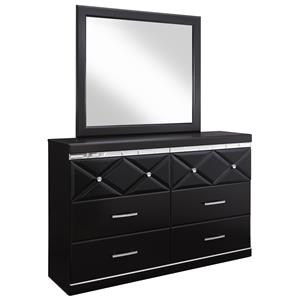 Signature Design by Ashley Fancee Dresser & Mirror