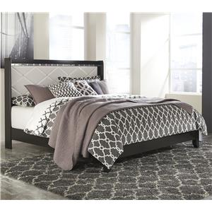 Signature Design by Ashley Fancee King Panel Bed