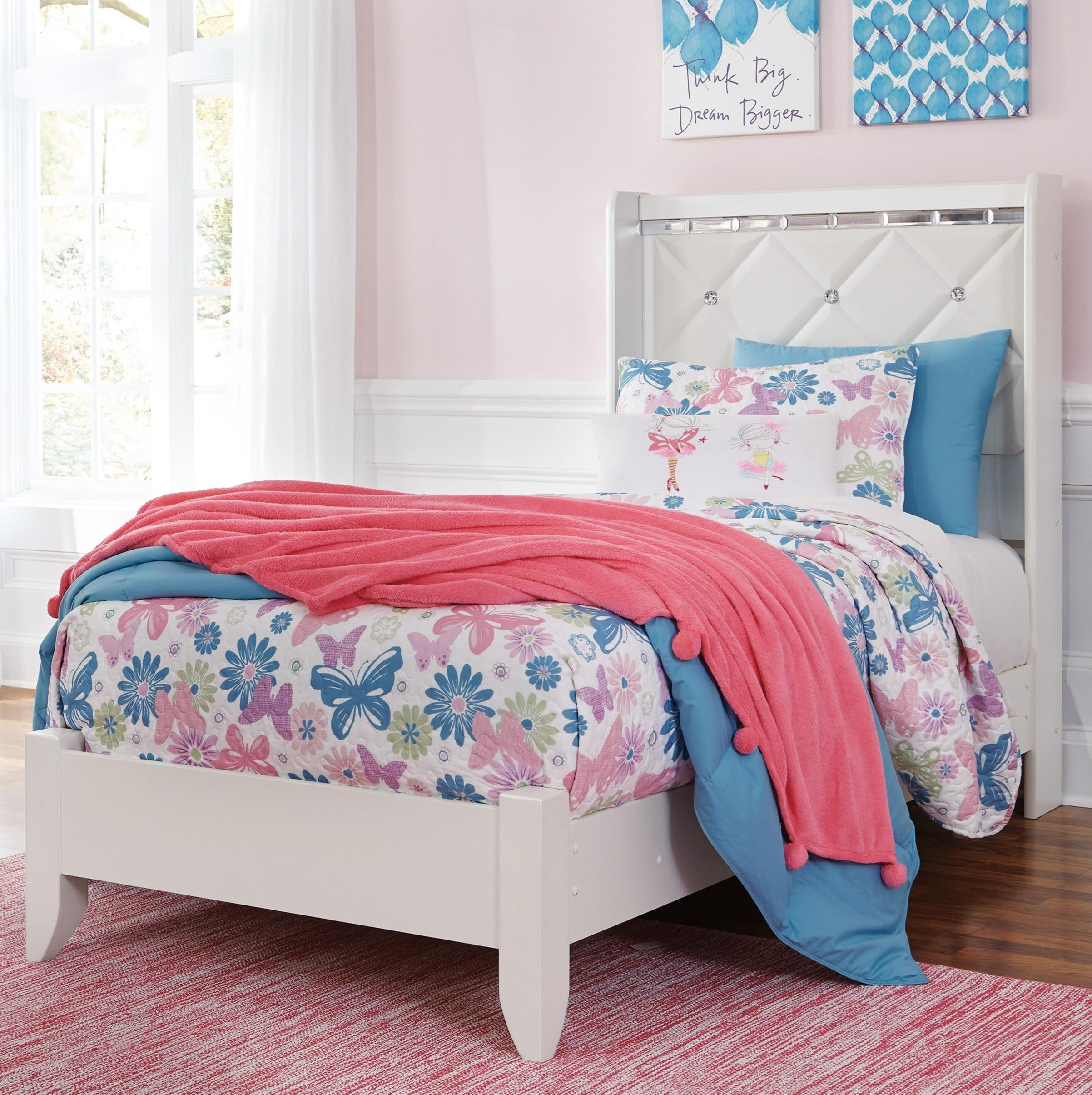 Dreamur Twin Panel Bed by Ashley (Signature Design) at Johnny Janosik