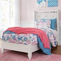 Signature Design by Ashley Dreamur Twin Panel Bed - Item Number: B351-53+52