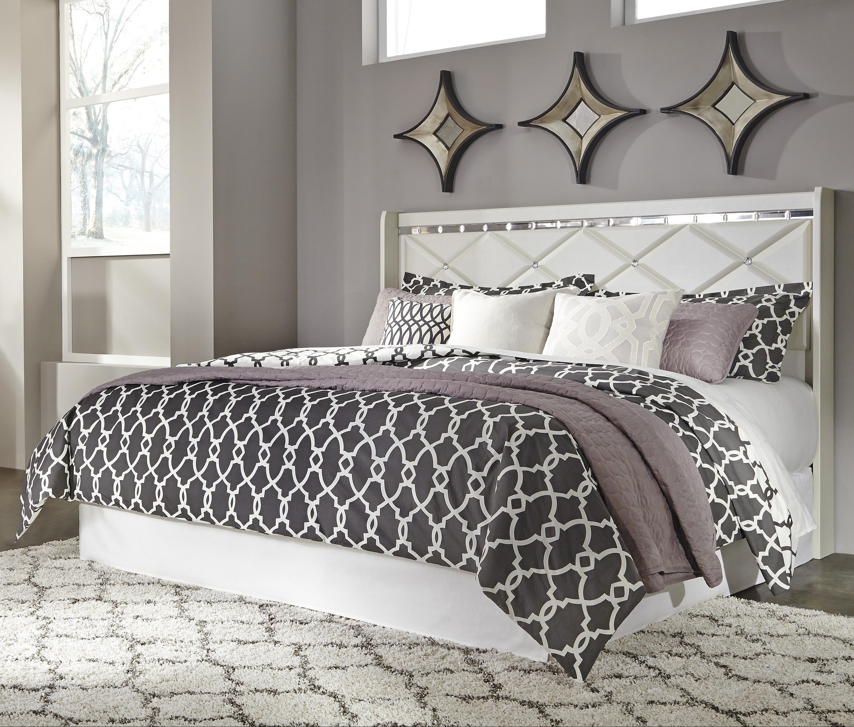 Signature Design by Ashley Dreamur King/California King Panel Headboard - Item Number: B351-58