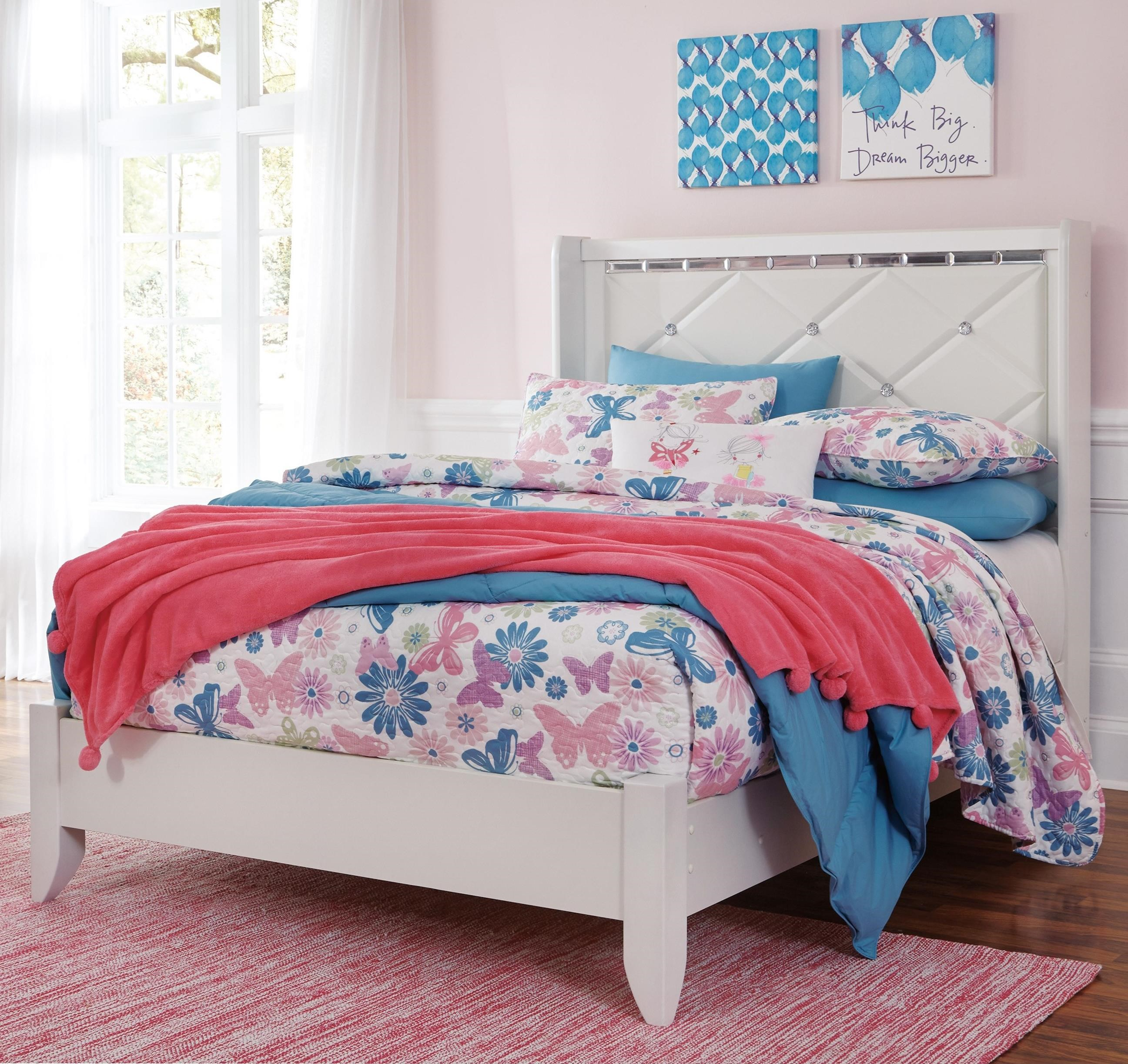 Signature Design by Ashley Dreamur Full Panel Bed - Item Number: B351-87+84