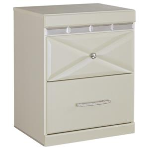 Signature Design by Ashley Dreamur Two Drawer Night Stand