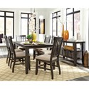 Signature Design by Ashley Dresbar Casual Dining Room Group - Item Number: D485 Dining Room Group 1