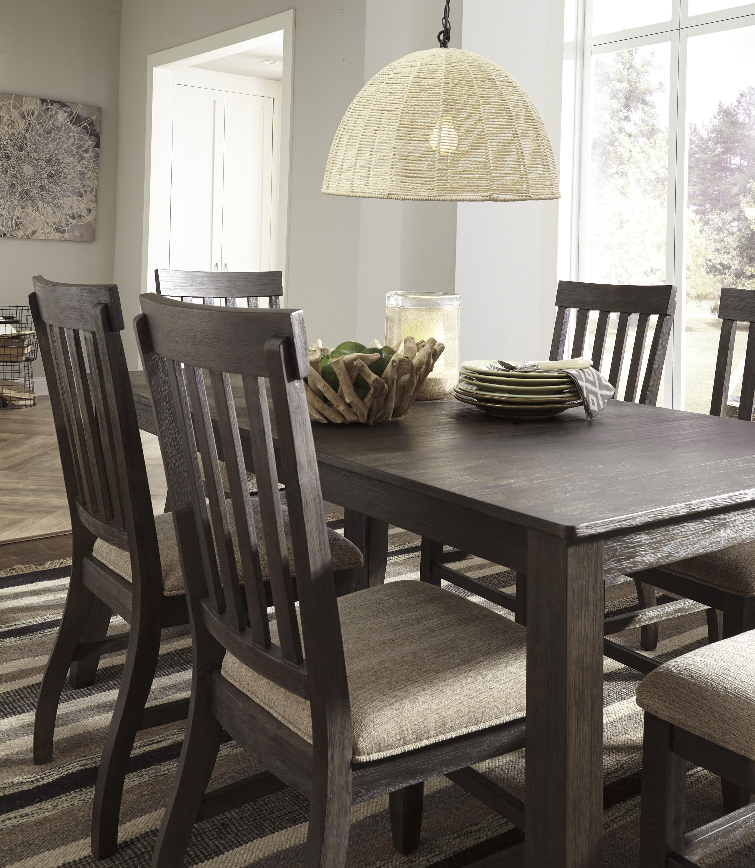 Signature Design By Ashley Furniture Hayley 7 Piece Dining: Signature Design By Ashley Dresbar 7-Piece Rectangular