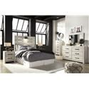 Signature Design by Ashley Cambeck Full Panel Bed , Dresser, Mirror, Nightstand - Item Number: 598319208