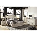 Signature Design by Ashley Cambeck King Bedroom Group - Item Number: B192 K Bedroom Group 2