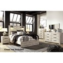 Signature Design by Ashley Cambeck Queen Bedroom Group - Item Number: B192 Q Bedroom Group 5