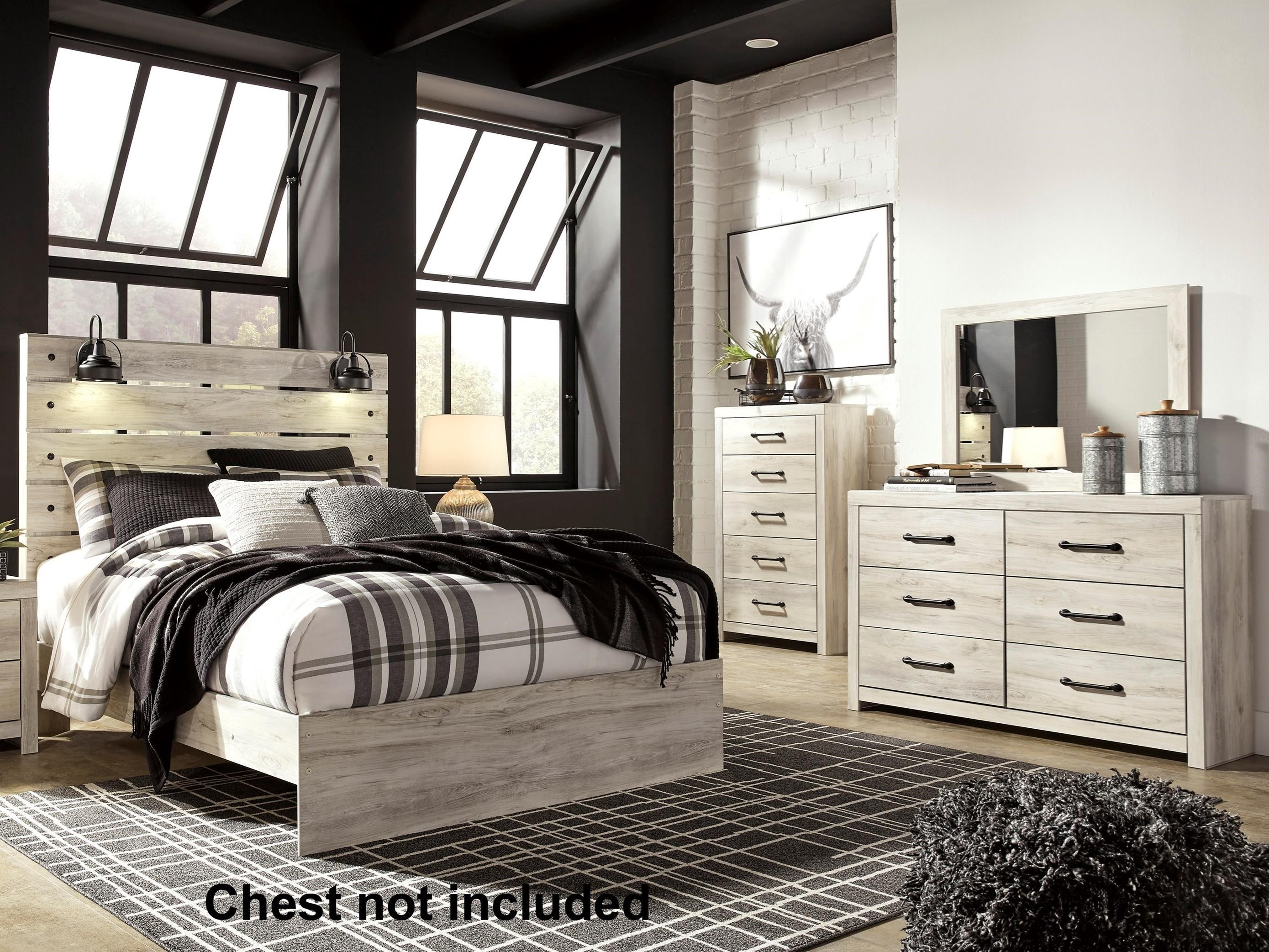 Signature Design By Ashley Cambeck Queen Bedroom Group Northeast Factory Direct Bedroom Groups