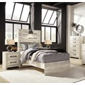 Signature Design by Ashley Cambeck Twin Bedroom Group - Item Number: B192 T Bedroom Group 1
