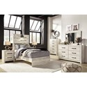 Signature Design by Ashley Cambeck Twin Bedroom Group - Item Number: B192 T Bedroom Group 5