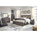 Signature Design by Ashley Drystan King Bedroom Group - Item Number: B211 K Bedroom Group 11