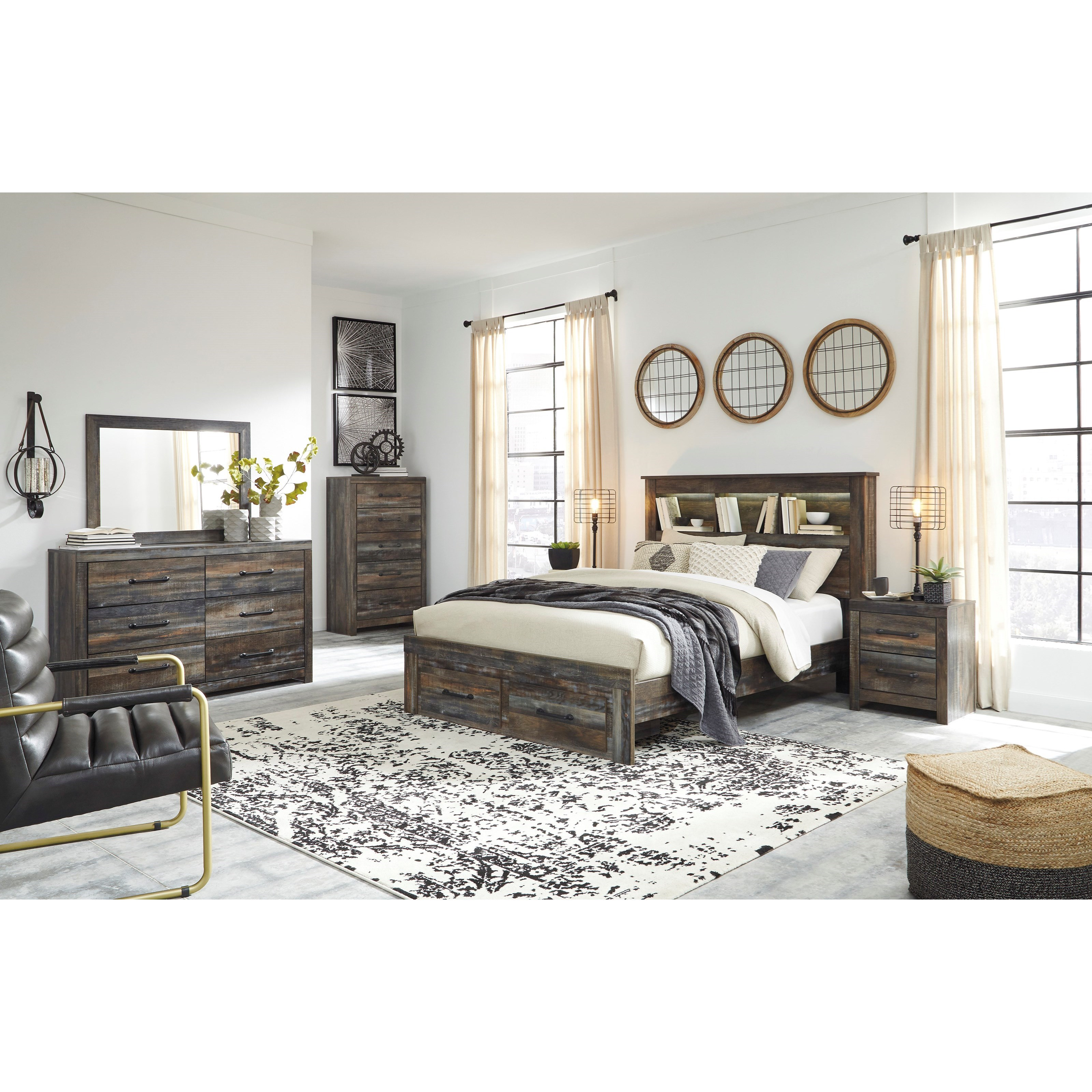 Drystan Queen Bedroom Group by Ashley (Signature Design) at Johnny Janosik