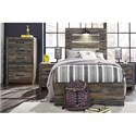 Signature Design by Ashley Drystan Twin Bedroom Group - Item Number: B211 T Bedroom Group 1
