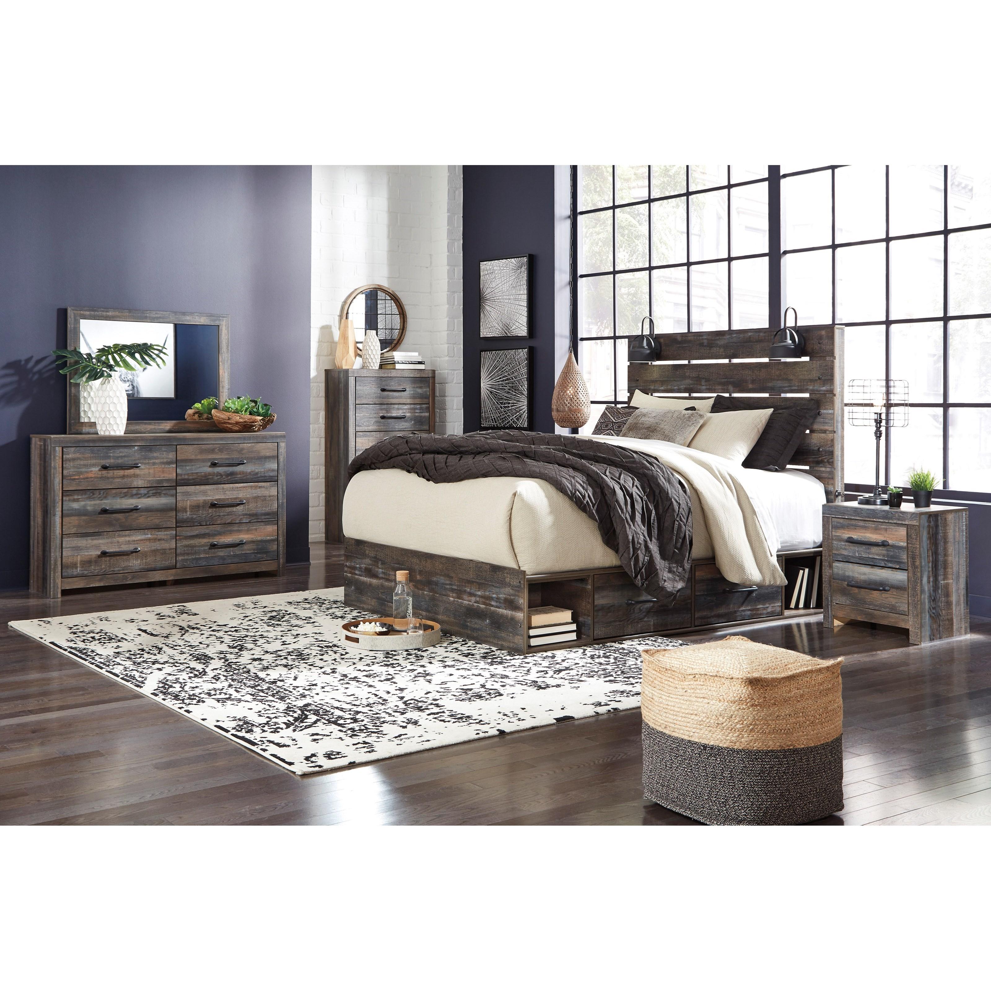Ashley Furniture Manufacturer: Signature Design By Ashley Drystan Rustic 6-Drawer Dresser