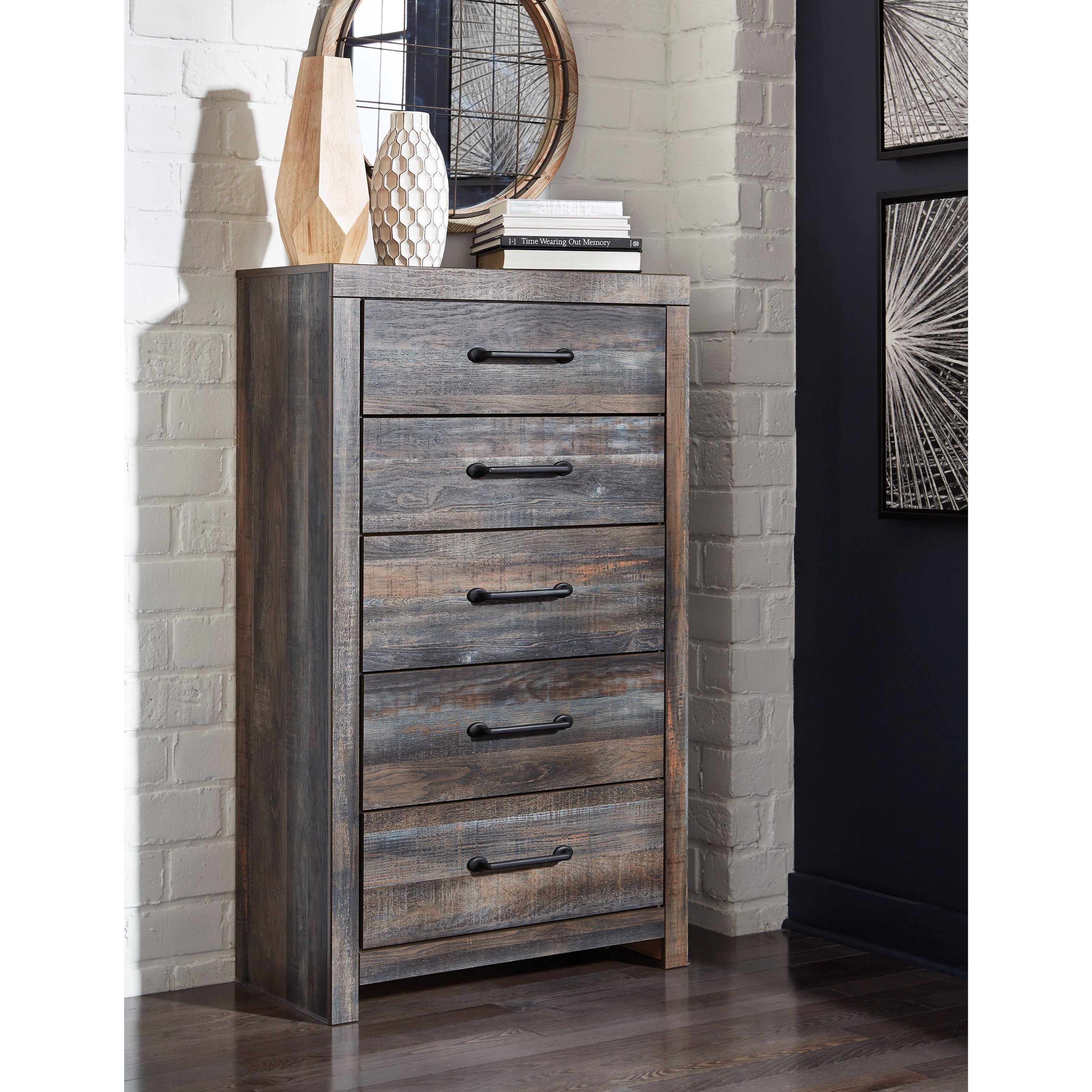 Drystan Drawer Chest by Signature Design by Ashley at Northeast Factory Direct