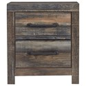 Signature Design by Ashley Drystan Two Drawer Nightstand - Item Number: B211-92