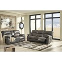 Signature Design by Ashley Dunwell Reclining Living Room Group - Item Number: 51601 Living Room Group 1