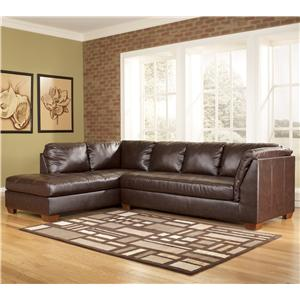 Signature Design by Ashley Fairplay DuraBlend® Sectional Sofa with Left Facing Chaise