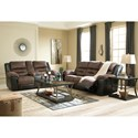 Signature Design by Ashley Earhart Reclining Living Room Group - Item Number: 29101 Living Room Group 1